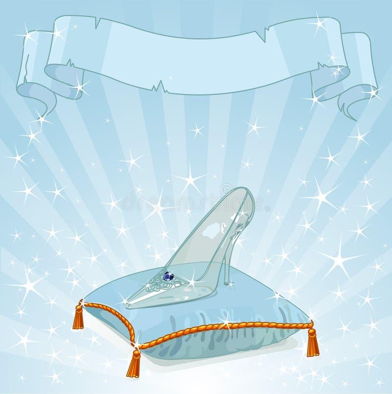 Кристаллическая предпосылка тапочки бесплатная иллюстрация