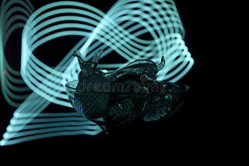 Кристаллические плодоовощи стоковое изображение rf