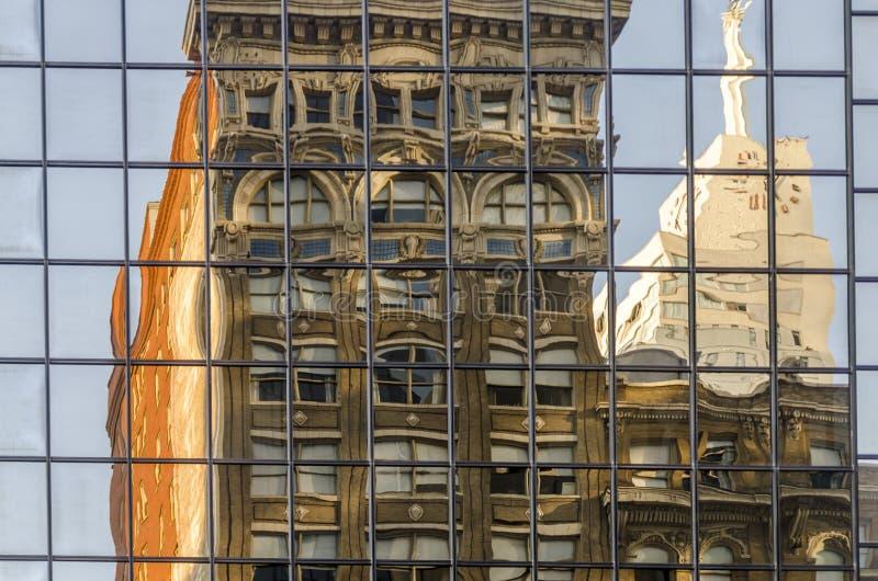 Кристаллический фасад стоковые изображения