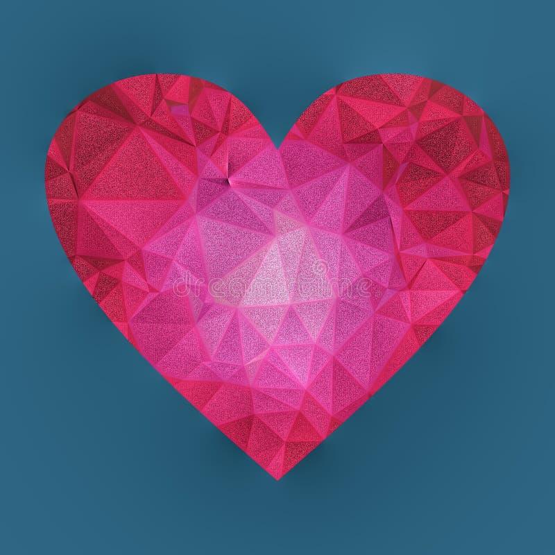 Кристаллическое сердце бесплатная иллюстрация