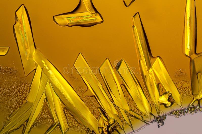Кристаллы хлорного железа стоковое изображение