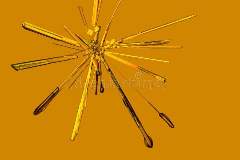 Кристаллы хлорного железа стоковая фотография