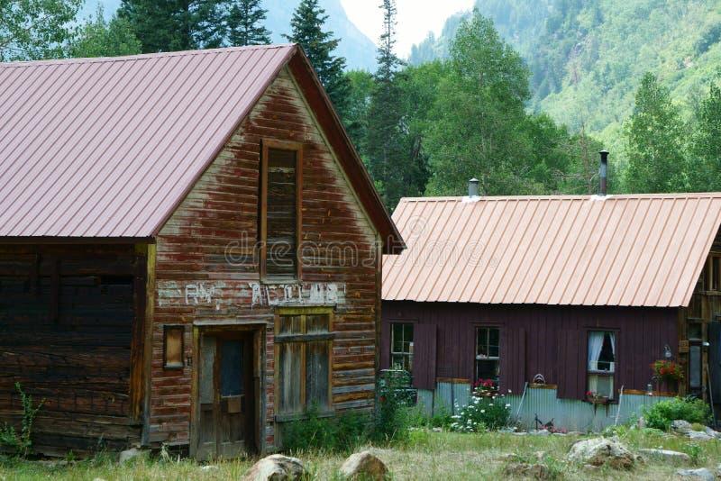 Кристл Колорадо почти город-привидение стоковые изображения