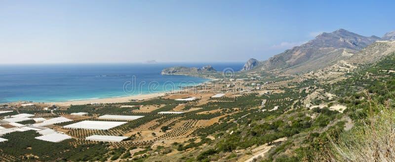 критский seashore стоковые фото