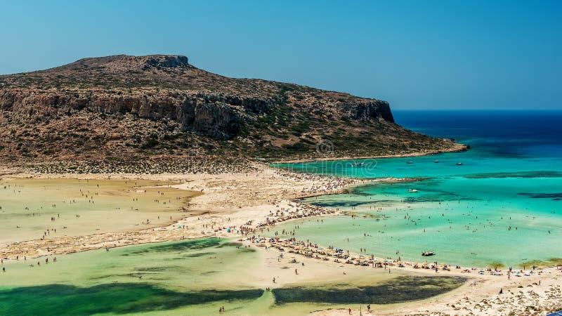 Крит, Греция: Лагуна Balos стоковые изображения
