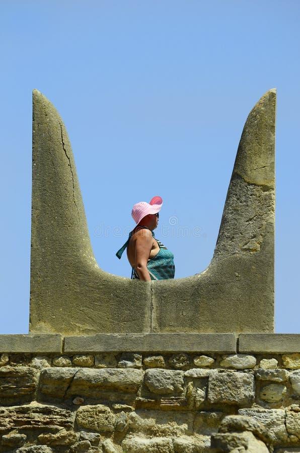 Крит Греция приземлился продолжающееся солнце лучей плоскости стоковое фото rf