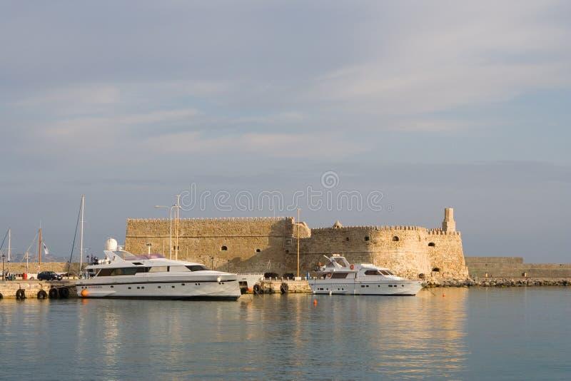 Крит Греция heraklion стоковое изображение rf