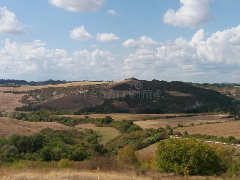 Крит Senesi (глины Senese) в Сиене стоковое фото