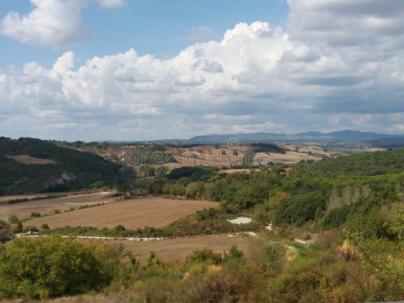 Крит Senesi (глины Senese) в Сиене стоковые изображения rf