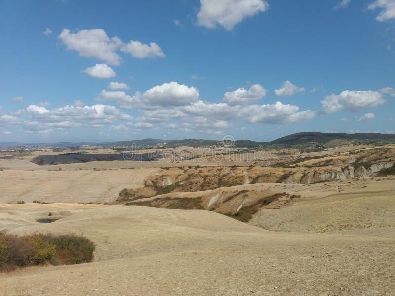 Крит Senesi (глины Senese) в Сиене стоковые фото