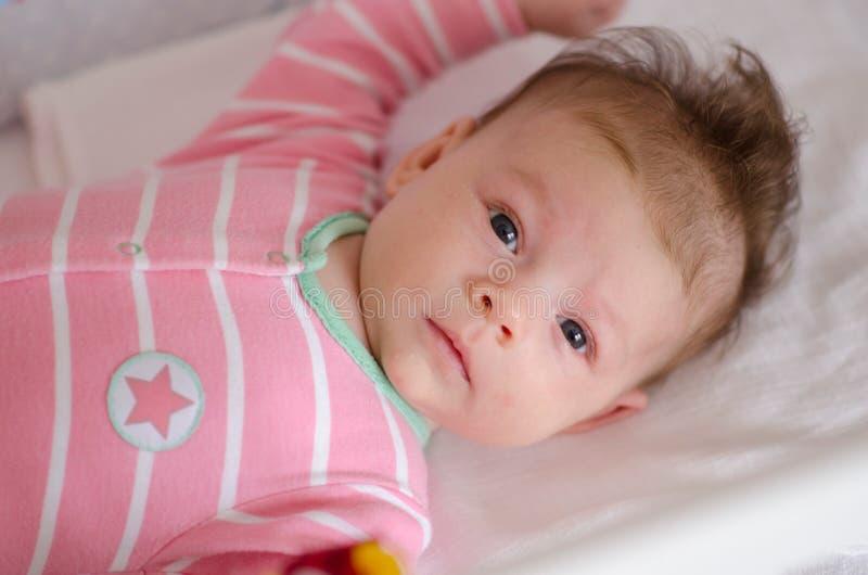 кроватка младенца стоковые изображения rf
