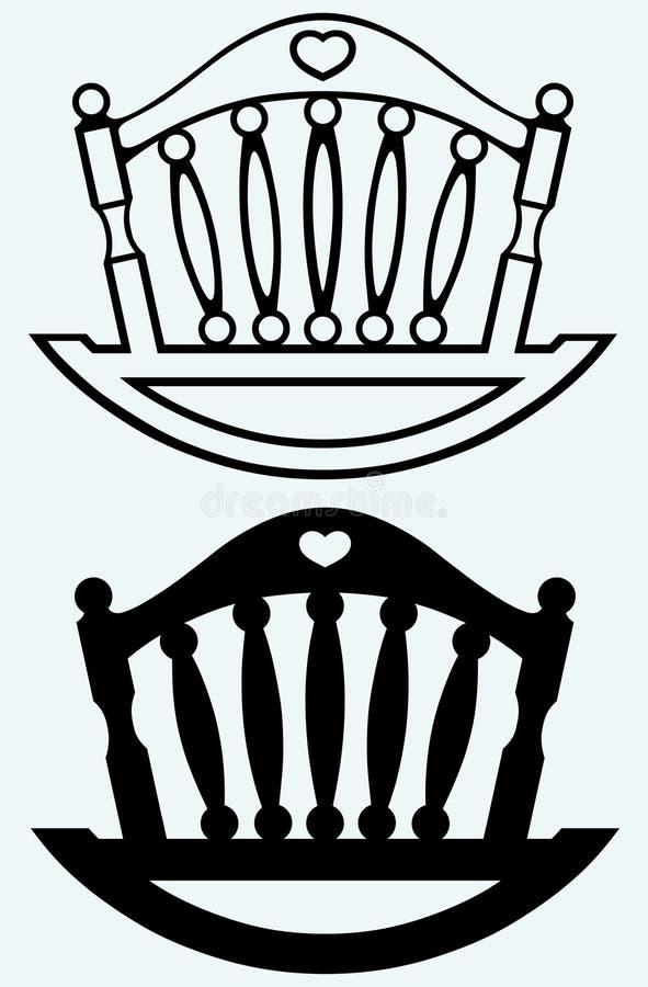 Кроватка элемента вашгерд бесплатная иллюстрация