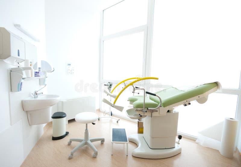 кровать гинекологическое I стоковое изображение rf