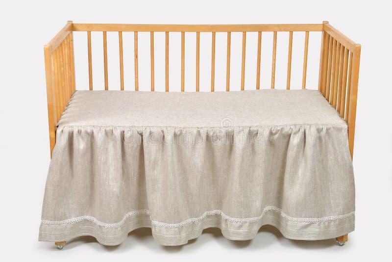 Кровать младенца стоковые фото