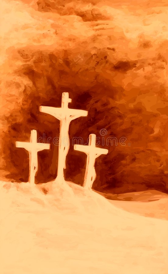 кровопролитное golgotha бесплатная иллюстрация