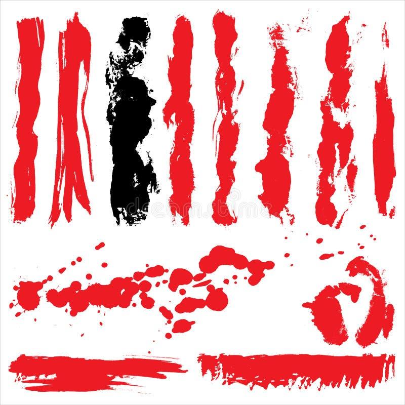 кровопролитное grunge иллюстрация вектора