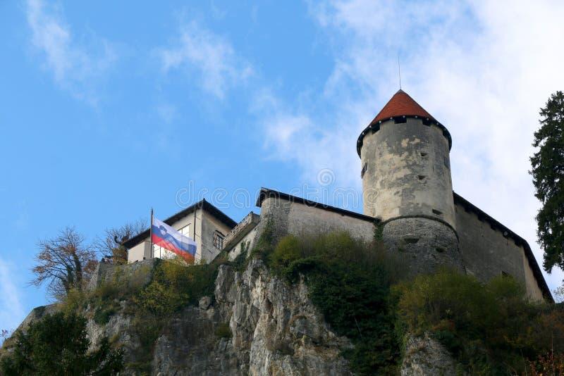 Кровоточенный замок стоковое фото