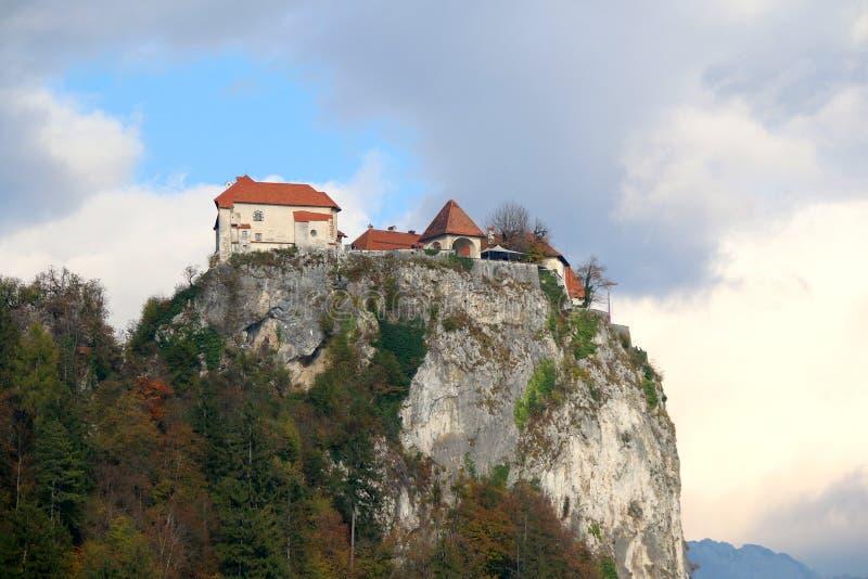 Кровоточенный замок стоковое изображение