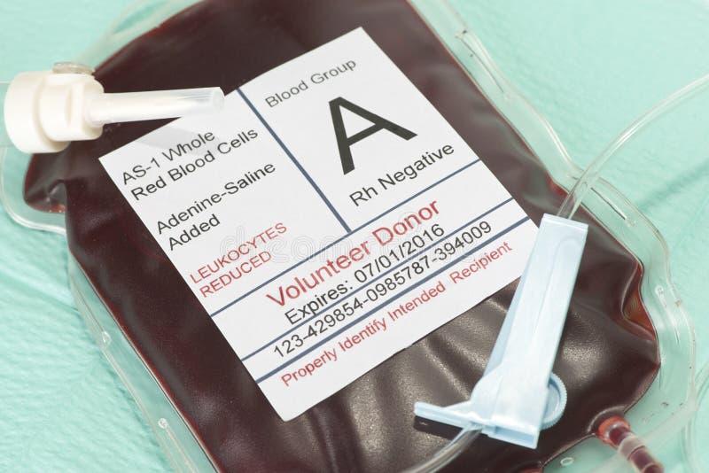 кровь собирая устранимую трансфузию набора стоковые изображения