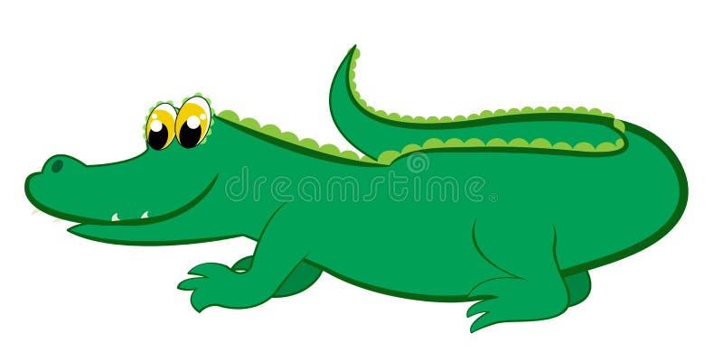 крокодил иллюстрация вектора