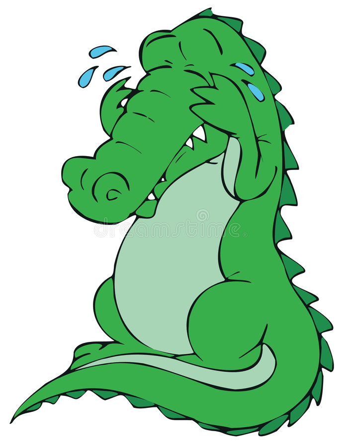 Картинки плачущий крокодил