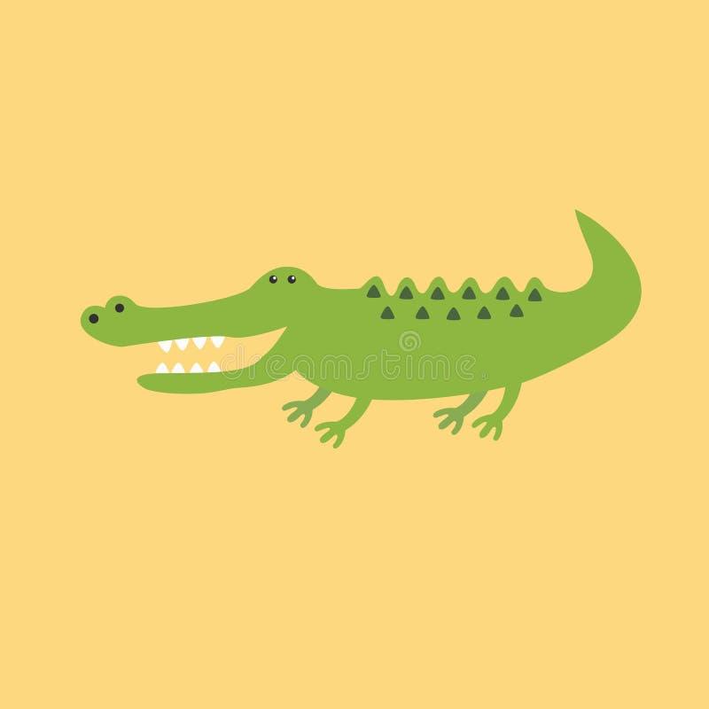 Крокодил крокодила крокодила иллюстрация штока