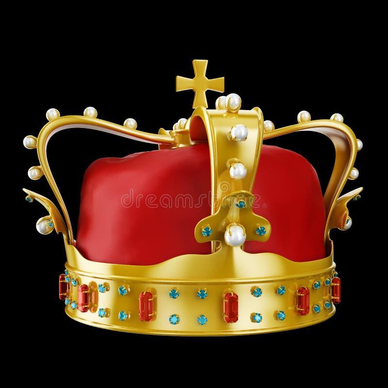 крона золотистая иллюстрация штока