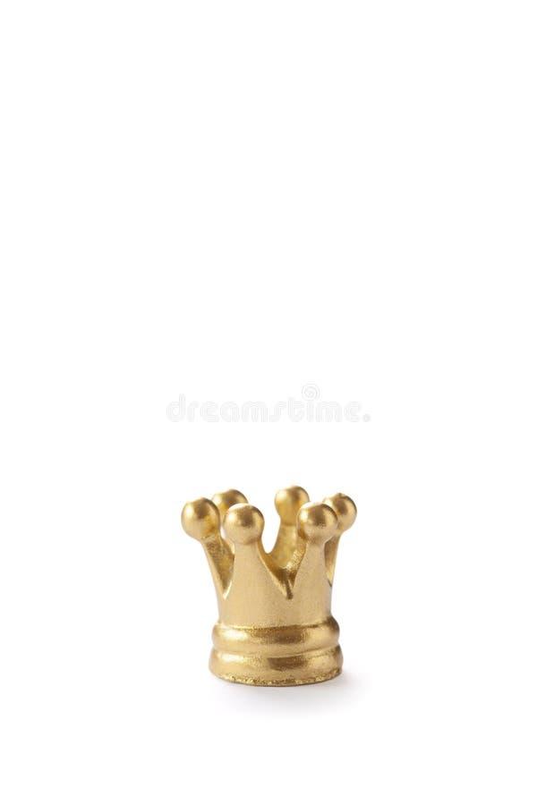 крона золотистая стоковое фото