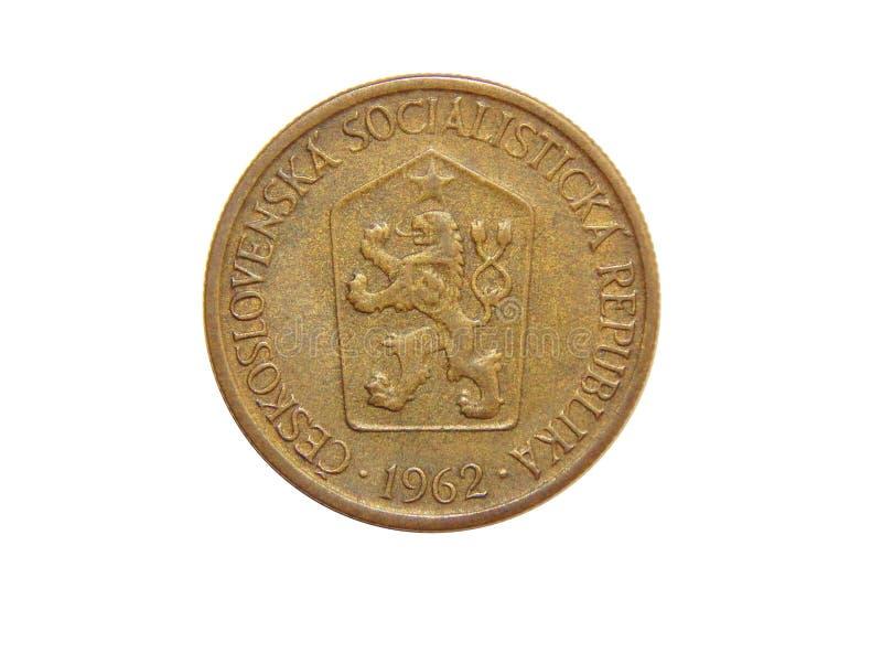 Крона монетки 1 Чехословакия 1962 стоковое изображение rf