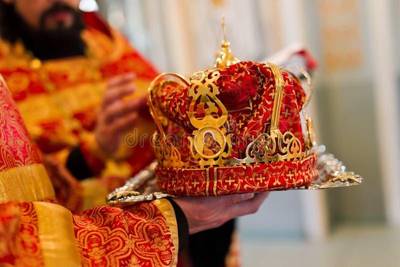 Крона свадьбы стоковое изображение rf