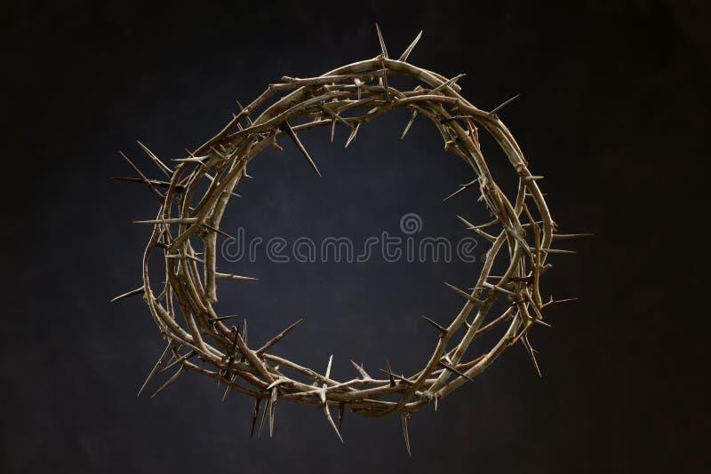 Крона сделанная из терниев стоковая фотография