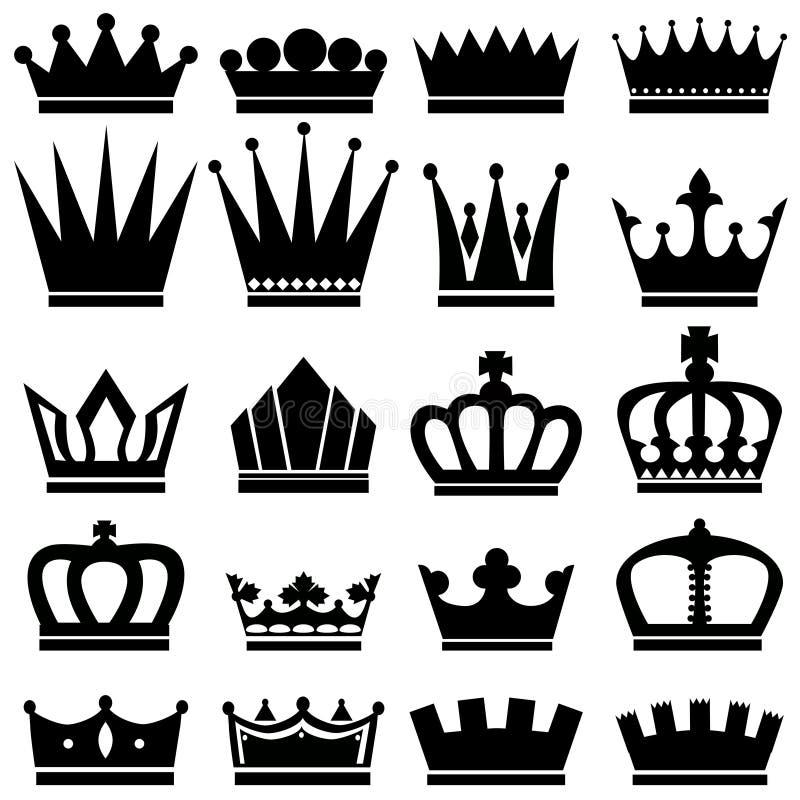 Кроны стоковые изображения rf