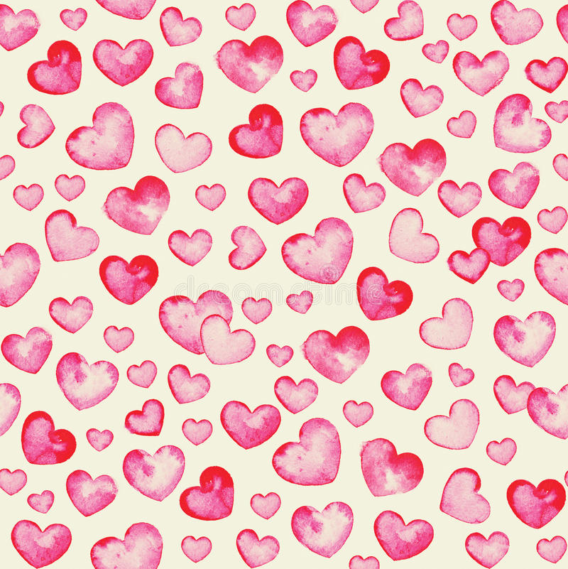 крошечные сердца иллюстрация вектора