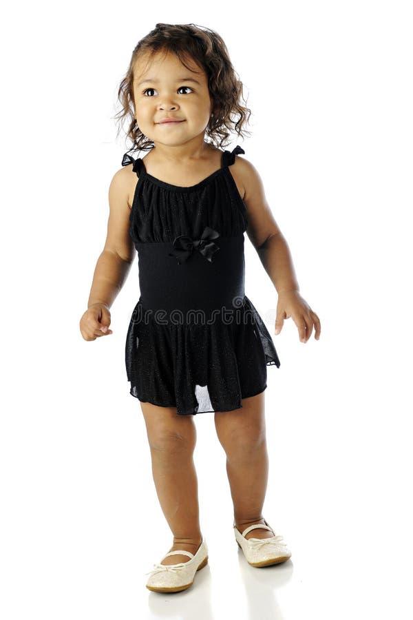 Крошечный танцор, Слишком-большие ботинки стоковые фото