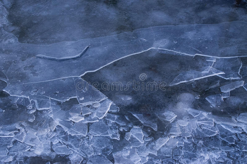 Крошить лед стоковое фото