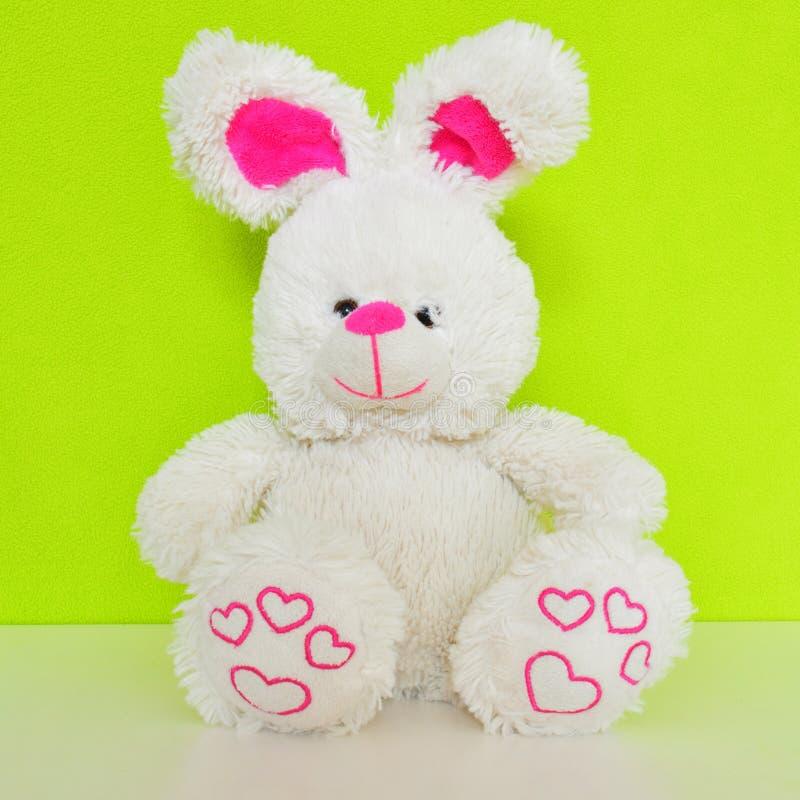 Кролик игрушки плюша стоковые изображения