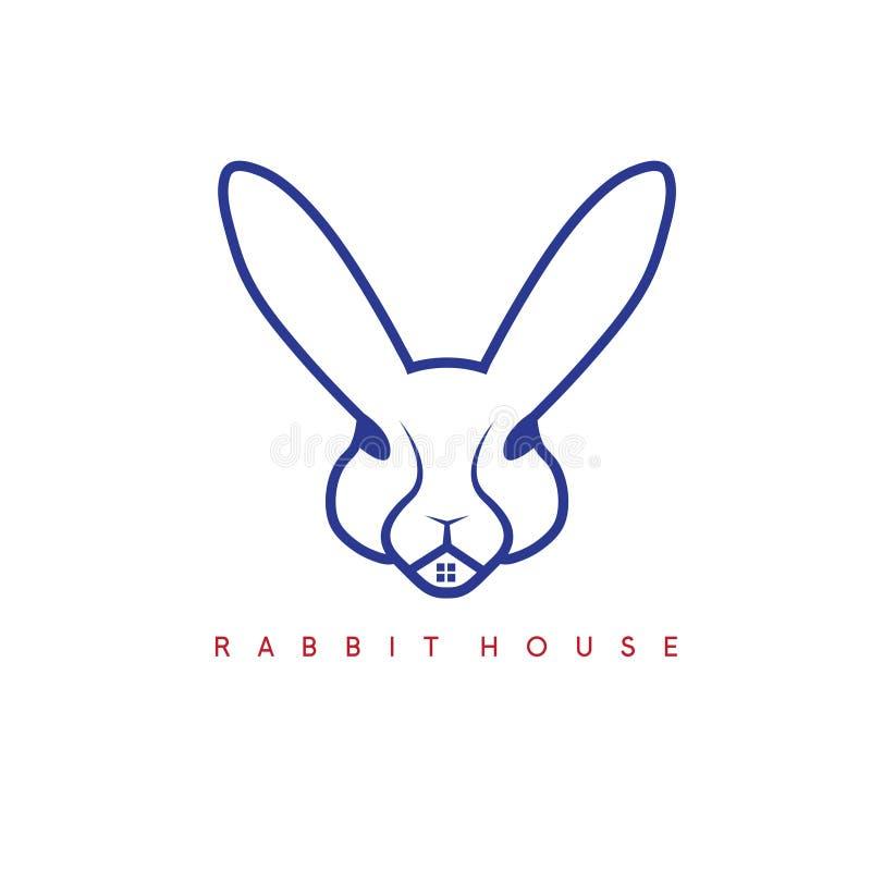 Кролик и окно в ем дизайн вектора бесплатная иллюстрация