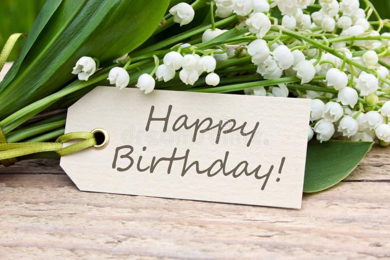 Download кролик подарка поздравительой открытки ко дню рождения Стоковое Фото - изображение насчитывающей бело, цветок: 40581128