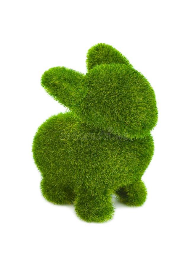 Кролик сделанный травы стоковое фото rf