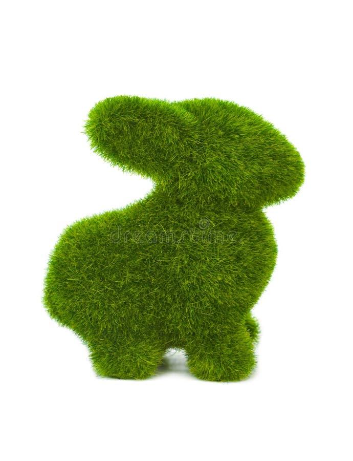 Кролик сделанный травы стоковое изображение