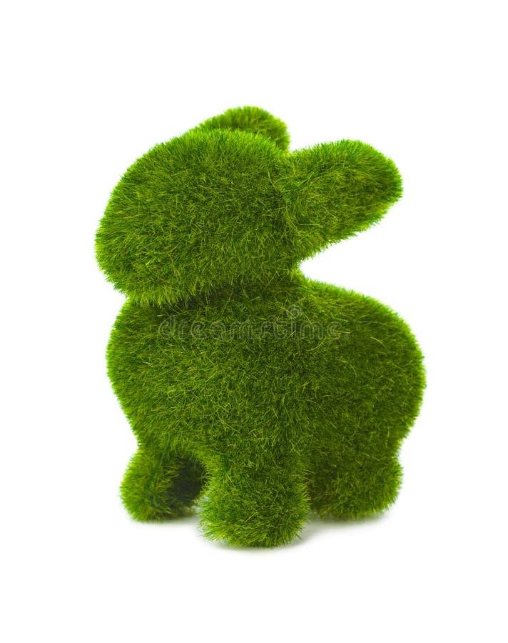 Кролик сделанный травы стоковые изображения