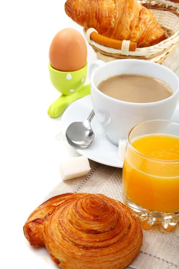 круасанты завтрака вкусные стоковые фото
