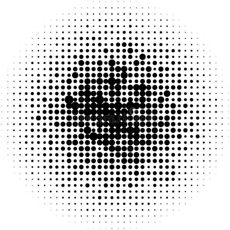 Download Круги полутонового изображения, картина точек полутонового изображения Monochrome полутоновое изображение Иллюстрация вектора - иллюстрации насчитывающей геометрическо, печатание: 81802132