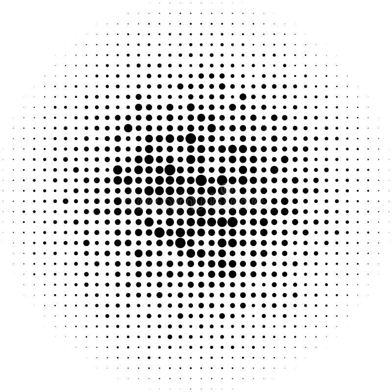 Download Круги полутонового изображения, картина точек полутонового изображения Monochrome полутоновое изображение Иллюстрация вектора - иллюстрации насчитывающей шуточно, halftone: 81802134