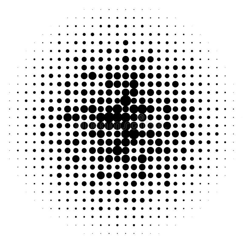 Download Круги полутонового изображения, картина точек полутонового изображения Monochrome полутоновое изображение Иллюстрация вектора - иллюстрации насчитывающей продукция, растр: 81802135