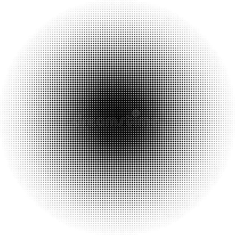Download Круги полутонового изображения, картина точек полутонового изображения Monochrome полутоновое изображение Иллюстрация вектора - иллюстрации насчитывающей черный, увядайте: 81802234