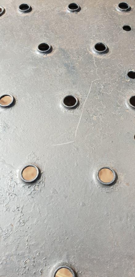 круглая текстура отверстия стоковое изображение