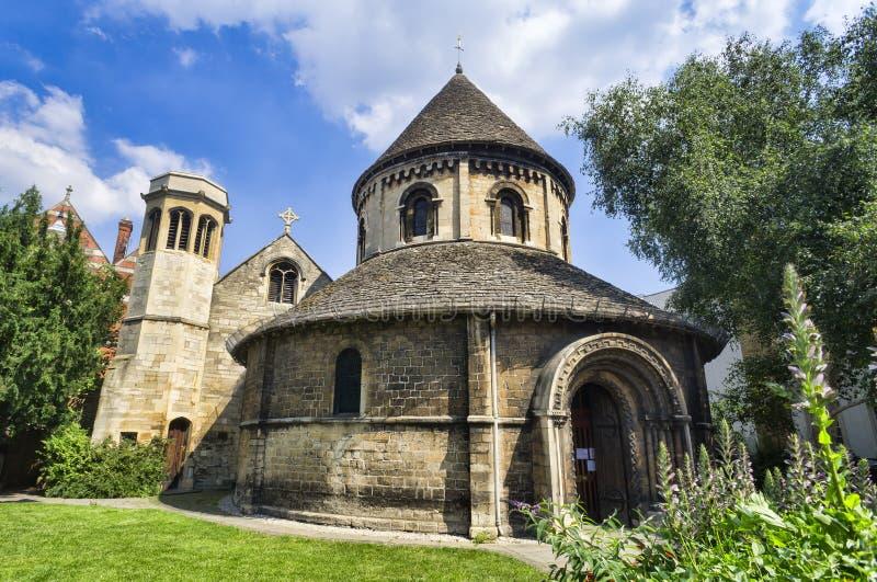 Круглая церковь в Кембридж стоковая фотография