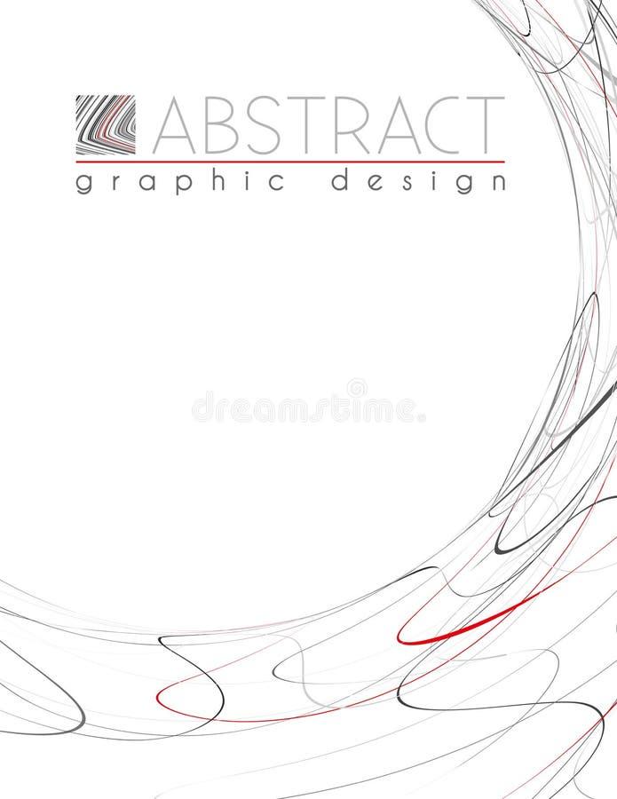 кругло Шаблон с черными, красными и серыми тонкими полосами бесплатная иллюстрация