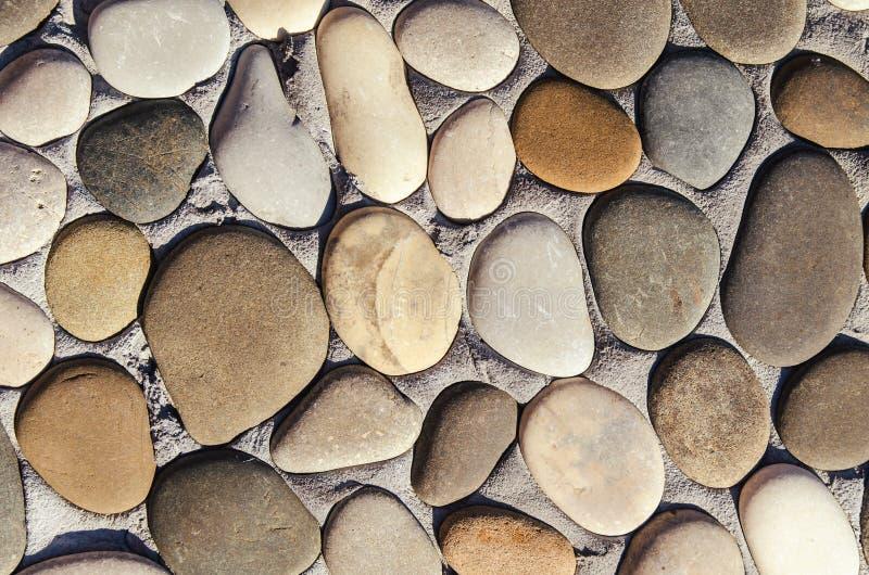 круглые камни стоковое фото